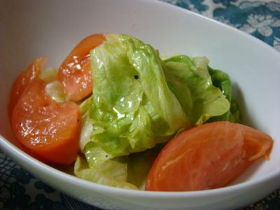 レタスとトマト!
