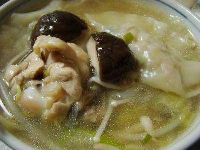 水炊き餃子鍋♪