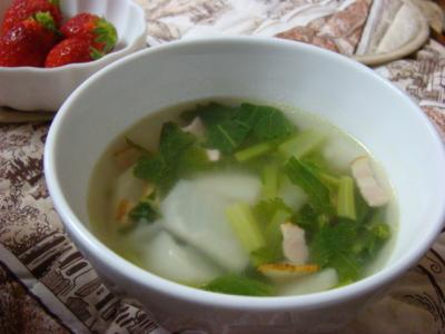 カブのスープ!