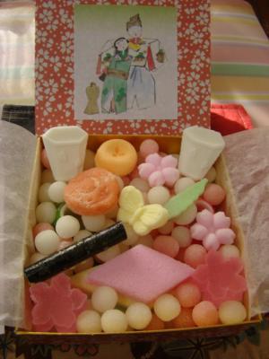 ひな菓子♪