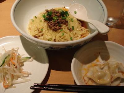 汁なし坦々麺♪