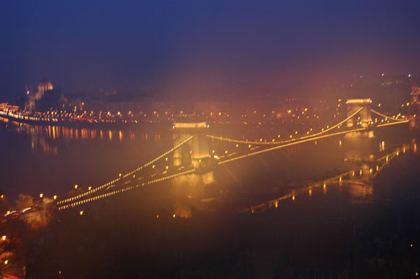 0131-9 王宮から見たくさり橋の夜景 (7)