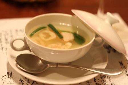 いわい鶏のスープ