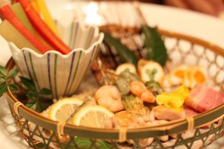 旬菜 季節の大皿盛り