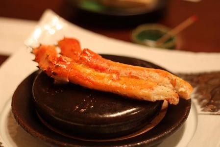 焼物 鱈場蟹バター焼