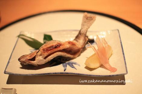 焼物 岩魚の藻塩焼き