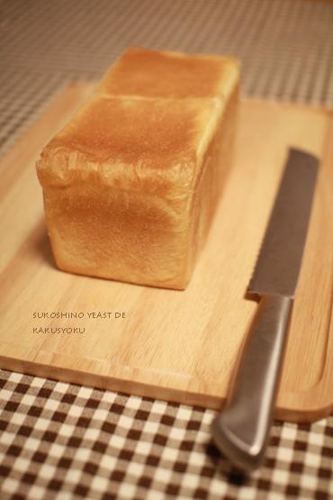少しのイーストでゆっくり発酵②