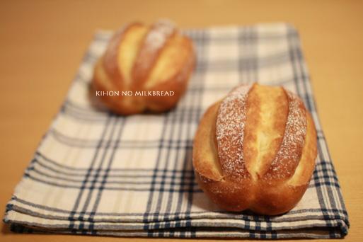 基本の牛乳パン
