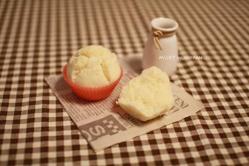 ミルキー蒸しパン