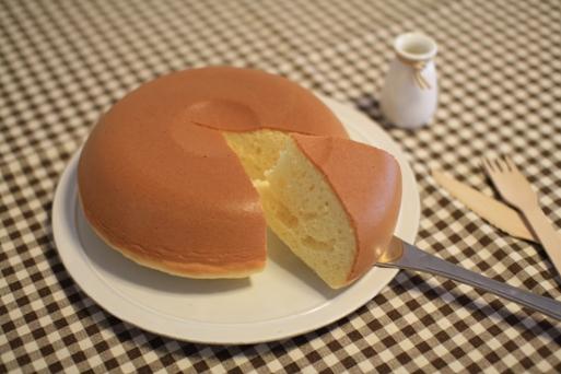 ぐりとぐらパンケーキ断面ショー