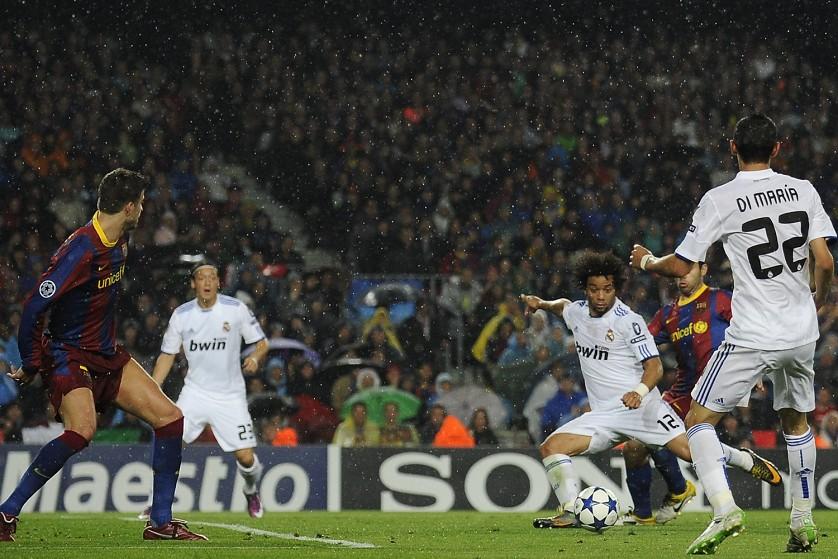 マルセロのゴール。