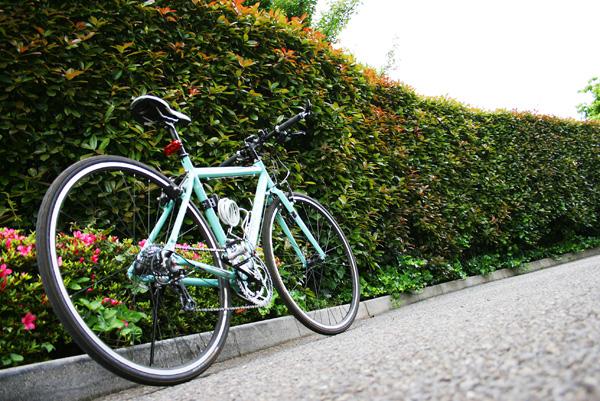 自転車通勤で体重-20kg ...