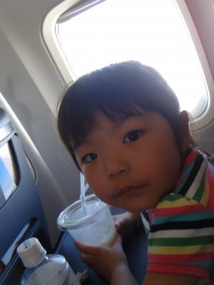 ジュース飛行機