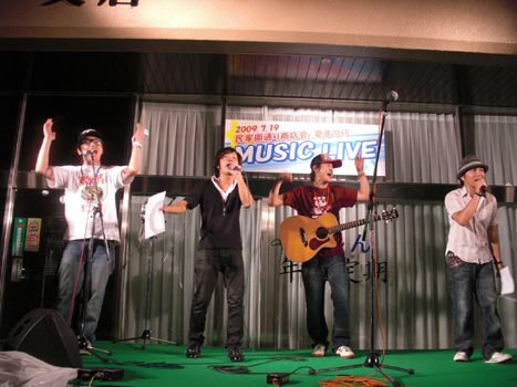 川信ミュージックライブステージ フィナーレ