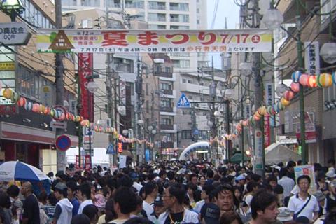 民家園通り商店会 夏まつり2010 全景