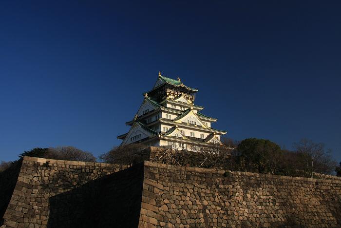 大阪城より、1
