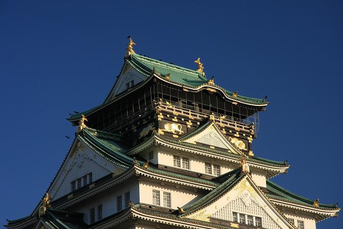 大阪城より、3