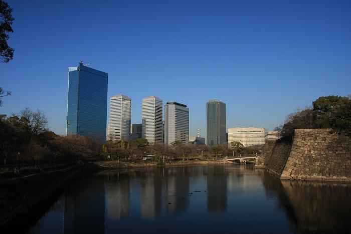 大阪城より、2