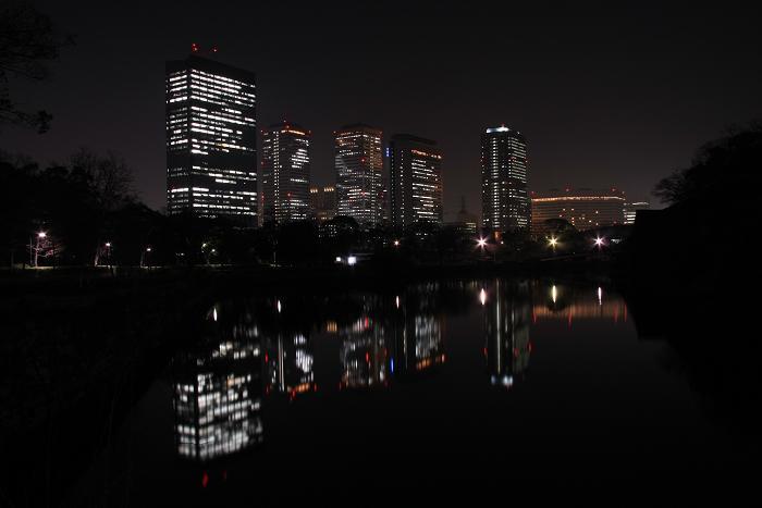 大阪城より、4