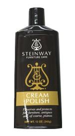steinway cream polish
