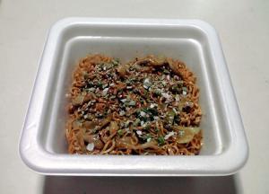 博多風 焼きラーメン(できあがり)