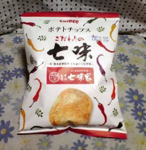 ポテトチップス こだわりの七味 七味家(パッケージ)