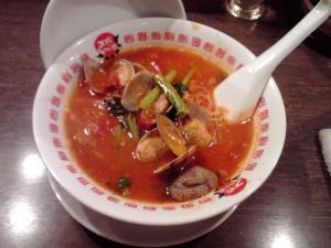 太陽のトマト麺 太陽のボンゴレ麺