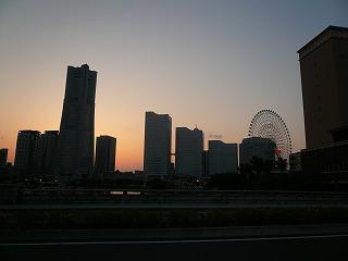 万国橋からの夕焼け