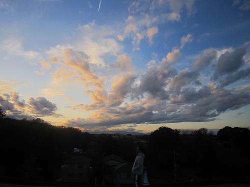 今日の雲-2