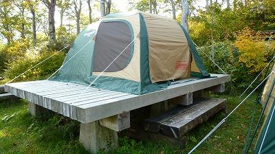 須川湖キャンプ場3