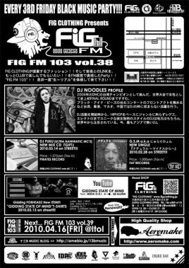 FIG FM 103 vol.38U