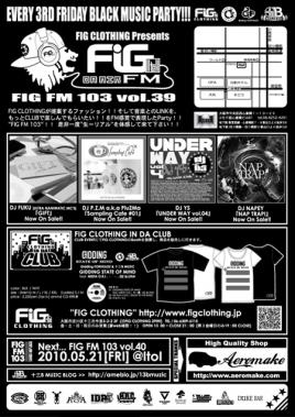 FIG FM 103 vol.39U