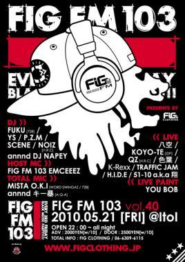 FIG FM 103 vol40O
