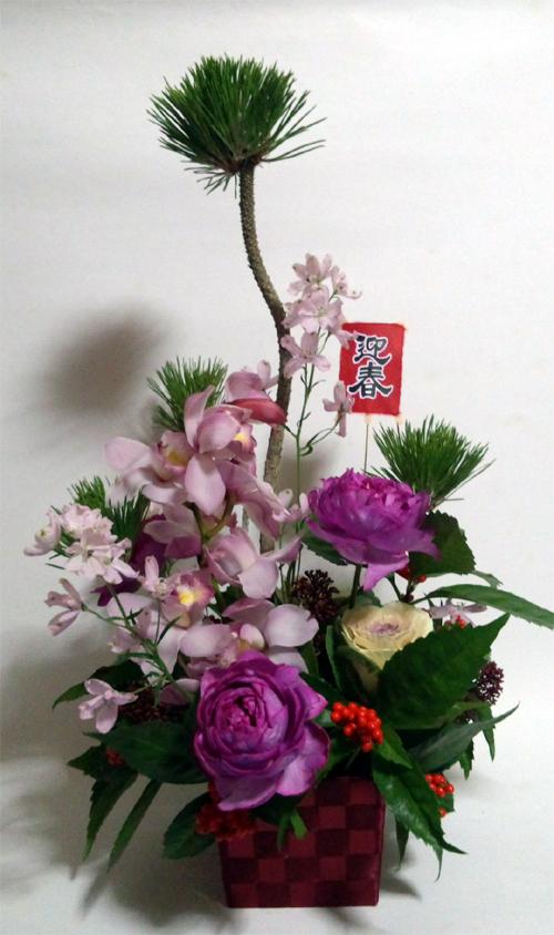 2014お正月生花2