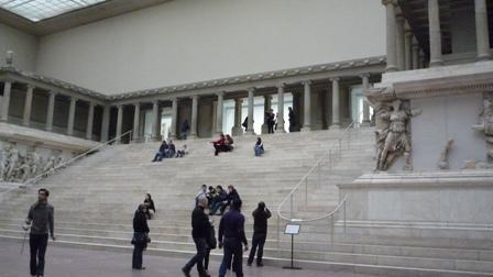 博物館 階段