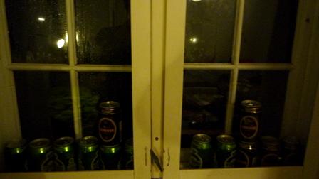 ビールの窓
