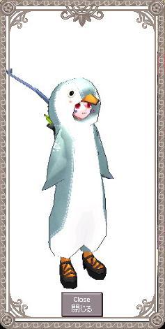 ペンギン試着
