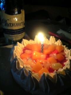 カラオケのケーキ