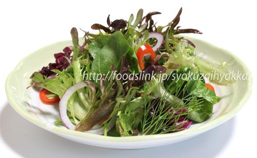 シルクレタスのサラダ