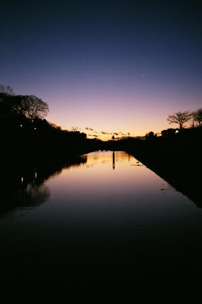 river & sunset 2