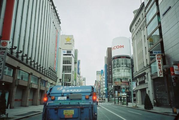 銀座リコー 車内から 2010.2.27