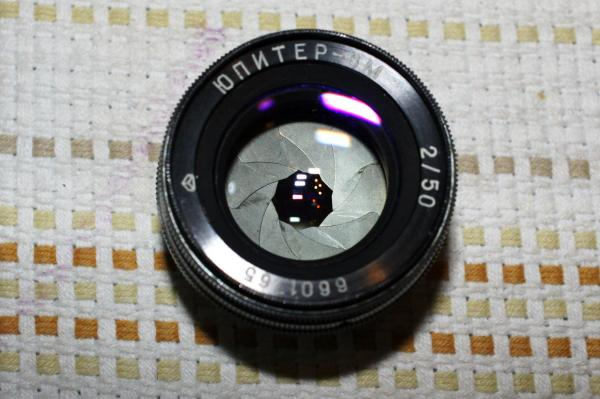 ジュピター8M 50mm f/2.0