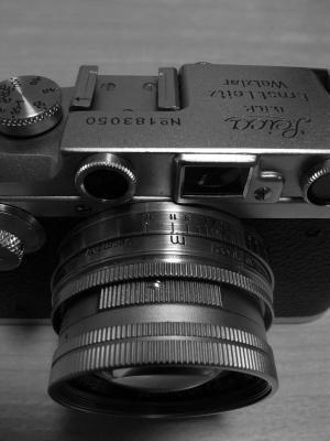Leica Ⅲa + Summicron 50mm f2