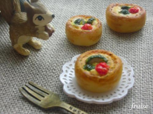 ズッキーニとミニトマトのキッシュ5