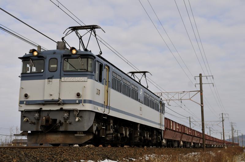 5780レ EF65-1051号機