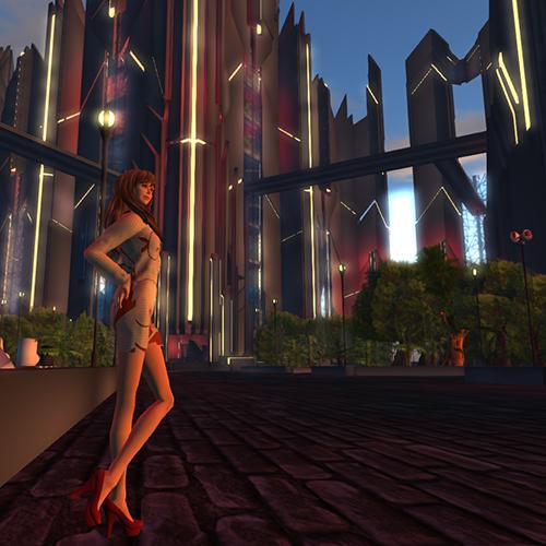 セカンドライフCyberpunk City of the Future