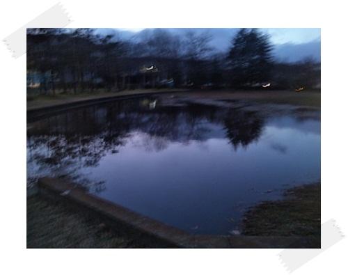 ・・・池??
