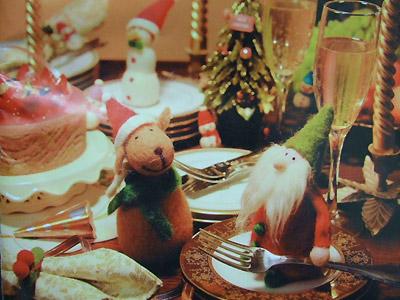 クリスマスウールドール