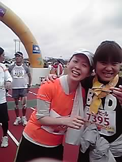 ひ&こ マラソンゴール