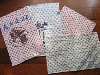 手縫いの雑巾0671
